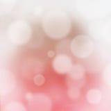 桃红色抽象bokeh模糊的背景 免版税库存图片