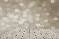 Абстрактные света рождества, круги bokeh предпосылки Стоковое Изображение RF