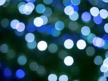 голубое bokeh стоковая фотография