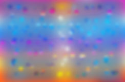 Bokeh. Abstract Backgroud With Magic Flare Royalty Free Stock Photo