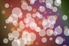 Bokeh abstract background Stock Image