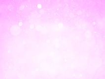 Bokeh abstract background with pink color Stock Image