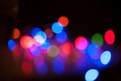 Bokeh. Abstract blurred light background Royalty Free Stock Images