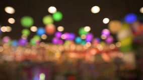 Bokeh abstract of colorful light interior Royalty Free Stock Image