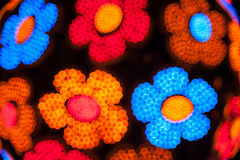 Bokeh abstract flowers Stock Photo