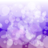Bokeh abstract light background Stock Photo