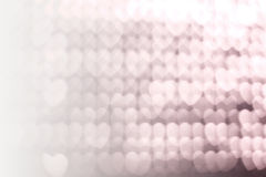 Bokeh abstract light backgrounds. Heart Bokeh abstract light backgrounds texture Royalty Free Stock Image