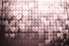 Bokeh abstract light backgrounds. Heart Bokeh abstract light backgrounds texture Stock Photography