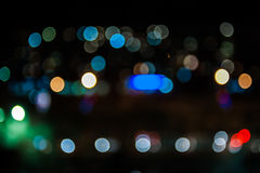 Bokeh abstract lights background Royalty Free Stock Photo