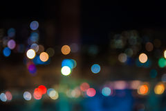 Bokeh abstract lights background Stock Photo