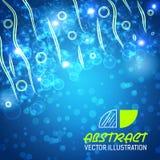 Bokeh abstracte vectorillustratie als achtergrond Stock Foto's