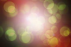 Bokeh abstracto imagen de archivo libre de regalías