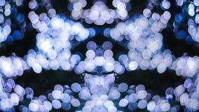 Bokeh abstracto de la Navidad Fotografía de archivo libre de regalías