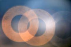 Bokeh abstracto del círculo del fondo Foto de archivo