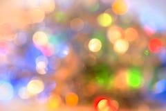 Bokeh abstracto del color de fondo  Fotografía de archivo libre de regalías