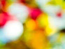 Bokeh abstracto del colorfull Imágenes de archivo libres de regalías