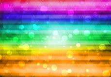 Bokeh abstracto del fondo Imagen de archivo