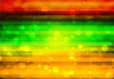 Bokeh abstracto del fondo Foto de archivo
