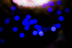 Bokeh abstracto del fondo de la iluminación Fotos de archivo libres de regalías
