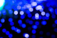 Bokeh abstracto del fondo de la iluminación Fotografía de archivo libre de regalías