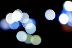Bokeh abstracto del fondo de la iluminación Imagen de archivo libre de regalías