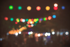 Bokeh abstrait Image stock