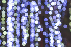 Bokeh abstrait de bleu de fond Photo stock