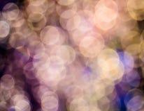 Bokeh abstrakta tło Zdjęcie Royalty Free