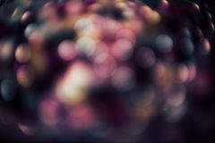 Bokeh abstrakter Hintergrund Lizenzfreies Stockbild