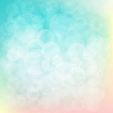 Bokeh abstrakter Hintergrund Auch im corel abgehobenen Betrag Lizenzfreies Stockfoto