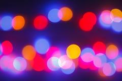 Bokeh-abtract Licht Stockbilder