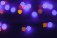 Bokeh-abtract Licht Lizenzfreie Stockfotos