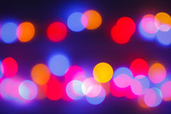 Bokeh abtract light Stock Images