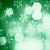 Bokeh accende il bello fondo di Natale Fotografie Stock Libere da Diritti