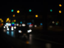 The bokeh. Royalty Free Stock Image