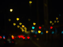 The bokeh. Bokeh is the aesthetic quality of the blur produced in the out-of-focus parts of an image produced by a lens Royalty Free Stock Images