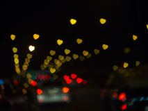 The bokeh. Stock Photography