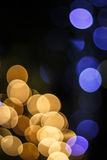 Bokeh anaranjado 11 fotografía de archivo libre de regalías