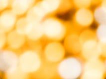 Bokeh anaranjado abstracto Fotos de archivo libres de regalías