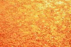 Bokeh anaranjado del fondo abstracto para el fondo de la Navidad Fotos de archivo