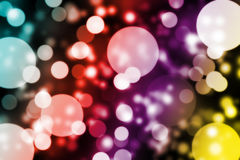 Bokeh Art. For your art work Royalty Free Stock Photography