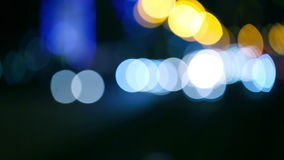 Bokeh astratto stock footage