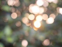Bokeh astratto delle luci del fondo immagine stock