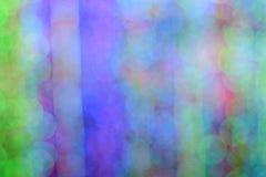 Bokeh av colorfullljusväggen Arkivfoton