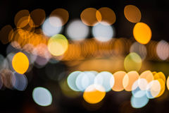 Bokeh av ljus bakgrund. Fotografering för Bildbyråer