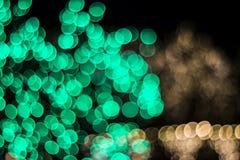 Bokeh av säsongsbetonade ljus Royaltyfria Bilder