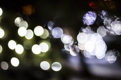 Bokeh av säsongsbetonade ljus Royaltyfri Bild