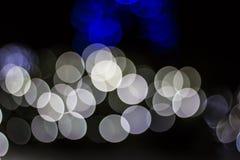Bokeh av säsongsbetonade ljus Fotografering för Bildbyråer