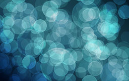 Bokeh azul Foto de Stock