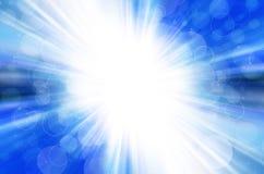 Bokeh azul com fundo do círculo. Imagem de Stock Royalty Free